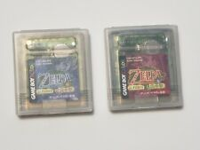 Game Boy Color Legend of Zelda Oracle of Seasons & Ages Japan Gameboy GBC Games