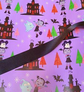 Vampirina Gift Wrap Set, Paper And Ribbon, see description