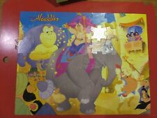 "Vintage Golden Aladdin 63 Pieces Jigsaw Puzzle 22"" x 17"""