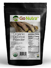 Licorice Root Powder Organic Certified 1 lb. (16 oz) Glycyrrhiza Glabra