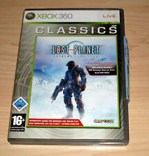 Microsoft XBOX 360 GIOCO GAME Classics-LOST PLANET-EXTREME CONDITION