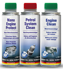 internal engine cleaning kit oil flush fuel treatment Nano engine protection
