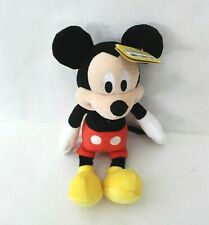 """Disney Junior Mickey Mouse Clubhouse Mickey Mouse Bean Plush Stuffed Animal 10"""""""