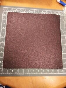 "K&Co 12"" Scrapbook Paper 5p Glitter Smitten Brown Valentine Easter Chocolate Bun"