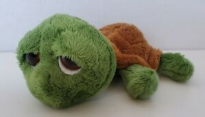 """Shecky Large Eyed Turtle Stuffed Animal Plush  By Russ Berrie And Co. 6"""""""