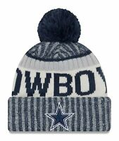 Dallas Cowboys 2017-18 Players Sideline Sports Knit Beanie Cap Hat NFL