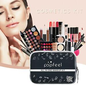Professional Beauty Make Up Box Cosmetic Colour Vanity Case Girl Gift Set 27pcs