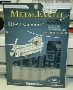 METAL EARTH MODEL KIT (CH-47 CHINOOK) UNOPENED