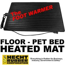 HEATED Electric Footwarmer Mat - Home/Office - Pet Bed