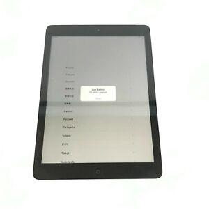 Apple iPad Air (A1475 / MD791ZP/A) Space Grey 16GB Wi-Fi + 3G (Unlocked) iOS 12