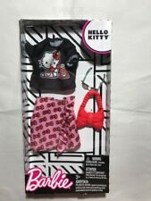 New Barbie Hello Kitty Fashion Pack