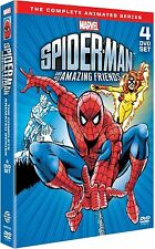 SPIDERMAN His Amazing Friends Complete Collection DVD PAL UK SEALED (READ!) OOP