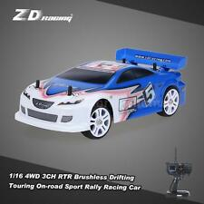 ZD Racing D16-M6 1/16 4WD 3CH 60km/h Brushless RTR On-road Racing Car Blue O5J8