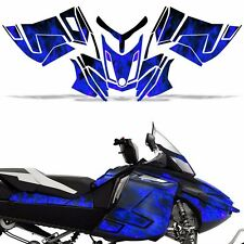 Rev XR Decal Graphic Kit Ski Doo Skidoo Sled Snowmobile Wrap Summit 13+ ICE BLUE