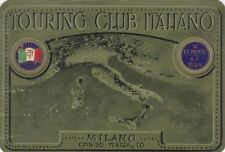* TOURING CLUB ITALIANO - Tessera, Napoli 1937