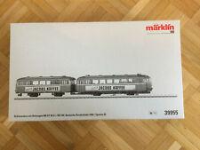 """Märklin 39955 - Schienenbus m. Beiwagen BR VT95.9 """"Jacobs Kaffee"""" *OVP*"""