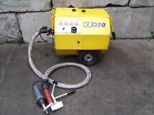 KRAH KR-350 MOBILE GRANULE EXTRUDER WELDER GOOD SHAPE