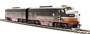 Broadway Limited 4824 HO Southern Pacific F3 A/B Diesel Locomotive #6102A/6102B