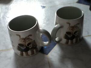 Boofle bride and groom mugs
