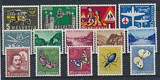 Schweiz Jahrgang 1956 postfrisch / in den Hauptnr. kompl. (10941) ..............