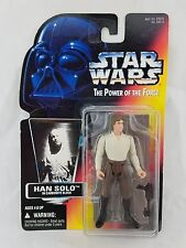 1996 Hasbro Kenner Star Wars POTF Red Power of the Force Han Solo w/ Carbonite