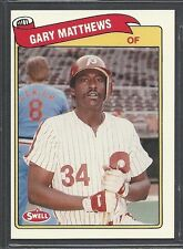 1989 Swell Baseball Greats - #118 - Gary Matthews - Philadelphia Phillies