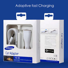 Original Fast Car Charger Rapid Adaptive For Samsung Galaxy S6/7 Edge + Note5/4