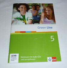 Green Line 5 Workbook mit Software keine Eintragungen, mit allen 3 CDs