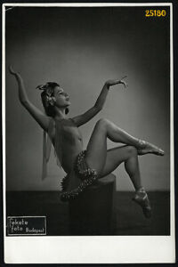 Larger size vintage Photograph, dancer in modern studio, by Fekete, 1941' Budape