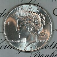* 1935-P * CHOICE - GEM BU MS PEACE SILVER DOLLAR * FRESH FROM ORIGINAL ROLL *