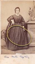 Teutschenthal bei Halle a. Saale, Kgr. Preußen, Frau Kantor Engling, CDV, 1860er