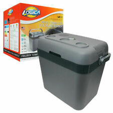 LOGICA Frigobox Termoelettrico Portatile 32L per Auto - Grigio