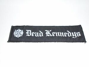 DEAD KENNEDYS WOVEN PATCH