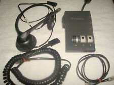 PLANTRONIC M12 BASE    11-00H5A HEADSET  WITH POWER SUPPLY