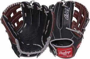 "Rawlings R9 Series 11.75"" Narrow Fit Pro H Baseball Glove RHT"