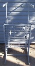 Store Display Fixtures New Clothing Garment Clothes Rack 4 Arms W/ Grid Area