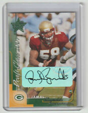 JAMAL REYNOLDS Packers SIGNED 2000 Leaf DRAFT CLASS 2001 Autograph SP RC AUTO