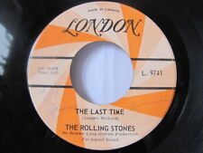 The Rolling Stones - The Last Time b/w Play With Fire 1965 CAN. L. 9741 45lp