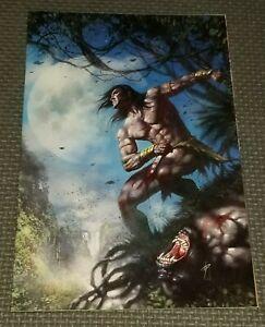 LORD OF THE JUNGLE #2 (2012) Lucio Parrillo Vigin Variant Cover Dynamite Tarzan