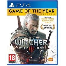 The Witcher 3 Game of the Year PS4 Edition Game for PlayStation 4 NEW
