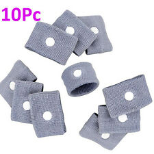 10 x SEA BAND Motion Sickness Wristband Nausea Relief Travel Boat Car 5 Pairs