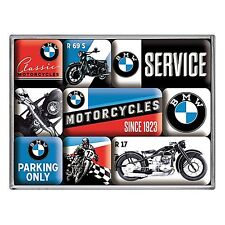 BMW Motorcycles set of 9 mini fridge magnets   (na)