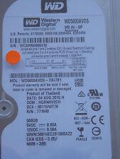 Western Digital WD5000AVDS-73U7B1 DCM: HGRNHV2CH / 04AUG2015 - 500 GB Hard Drive