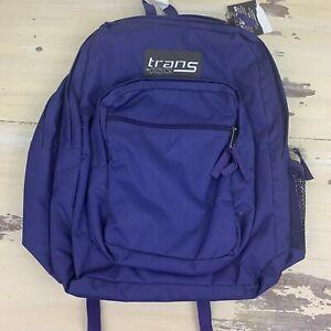 JANSPORT - NWT TRANS Purple School Book Bag Backpack - MUST SEE!