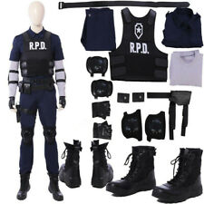 Resident Evil 2 Remake Biohazard Re:2 Leon Cosplay Costume Halloween Customize