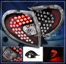 2000 2001 2002 DODGE PLYMOUTH NEON LED ALTEZZA TAIL LIGHTS REAR LAMPS BLACK PAIR