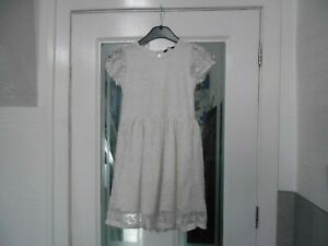 Girls Pretty Lined Dress by George - Age 8/9