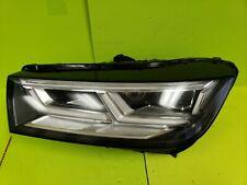 2018 18 Audi Q5 SQ5 Driver LH Left Side LED Headlight OEM