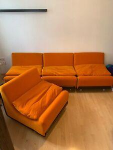 Colani Cor Orbis Sitzgruppe Sessel Couch Sofa Space Age 60er 70er Panton