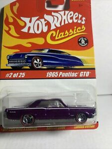 Hot Wheels Classics Series 1 #2 1965 Pontiac GTO - Purple SEALED UNOPENED HTF